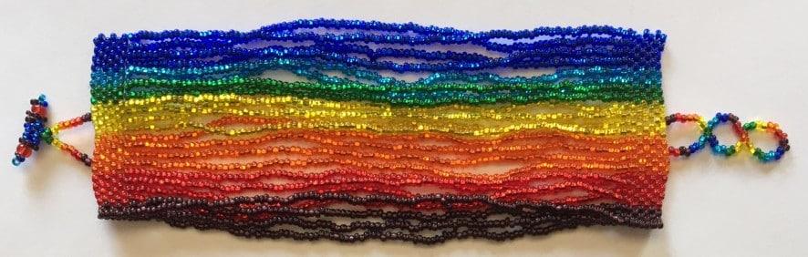 24-Strand Bracelet - Rainbow