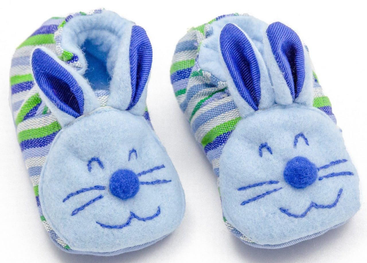 Baby Booties - Bunny - A Variety of Colors