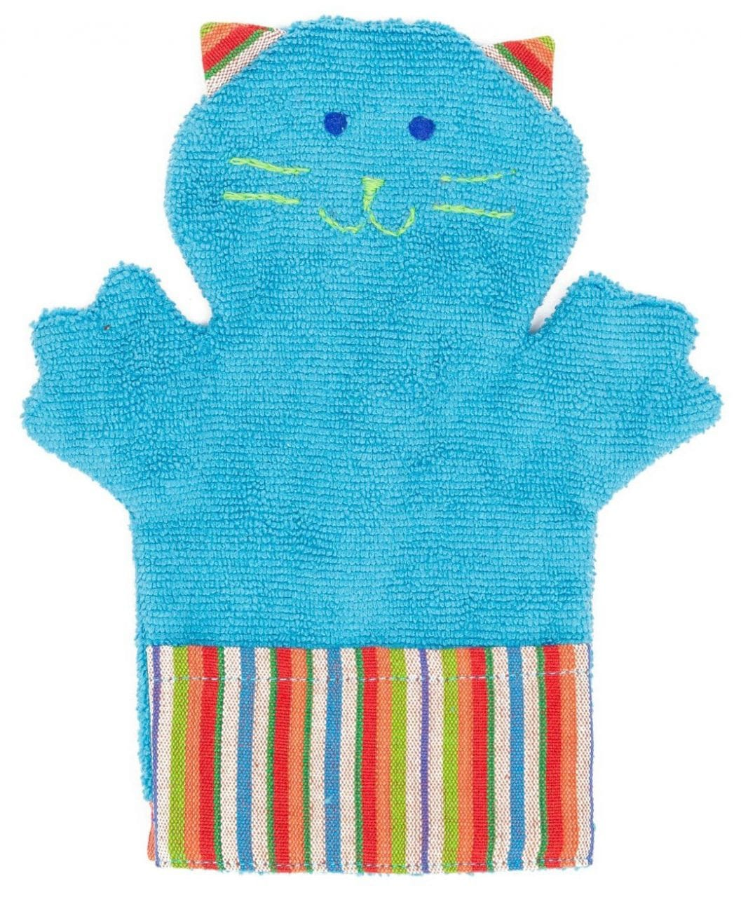 Puppet Washcloth - Kitty - A Variety of Colors