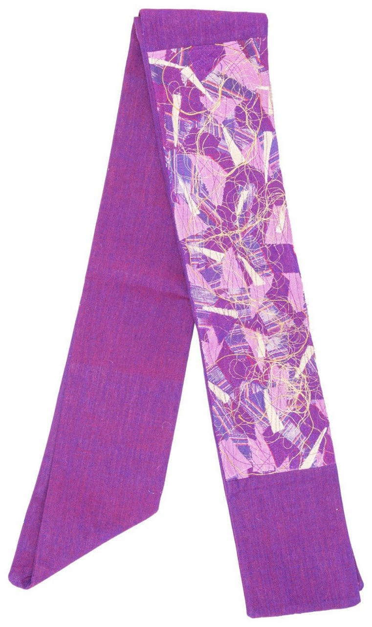 Contemporary Clerical Stole - Purple
