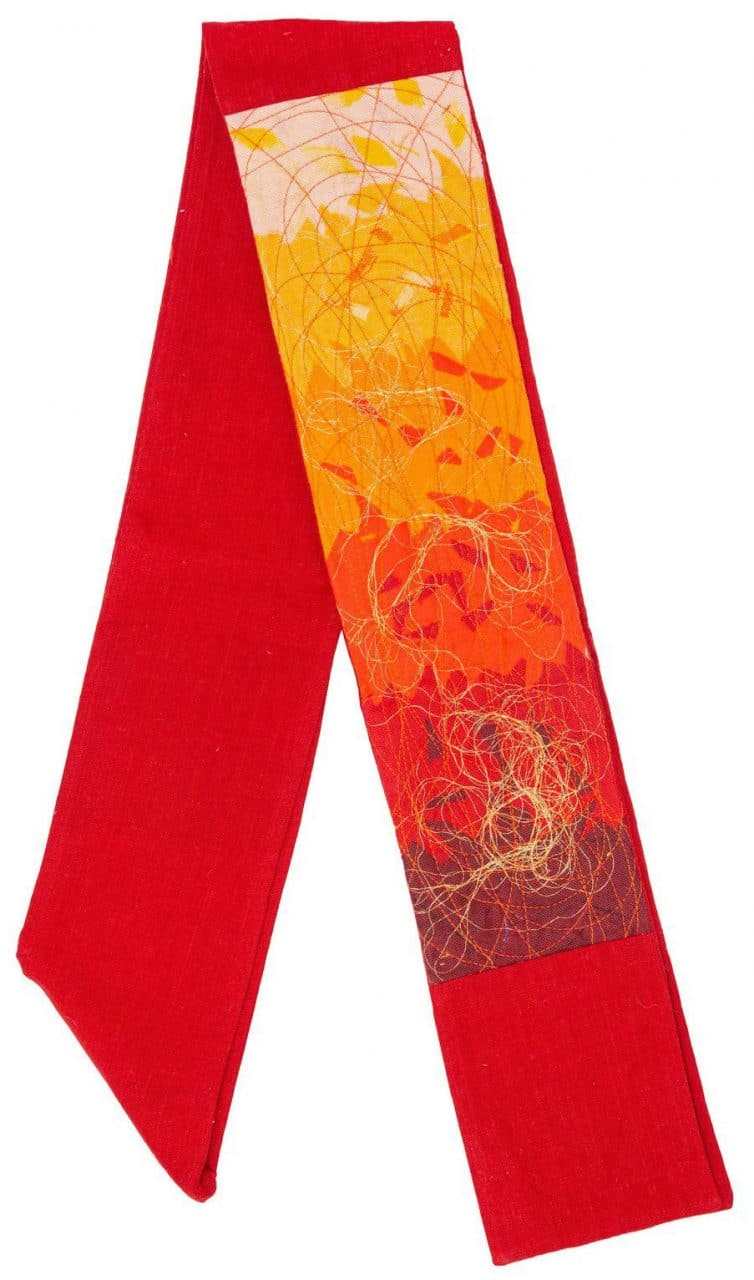 Contemporary Clerical Stole - Red
