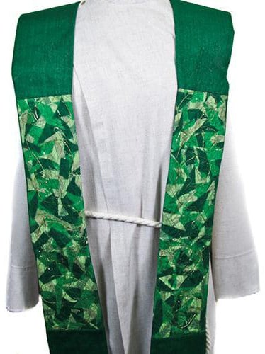 Contemporary Clerical Stole - Green