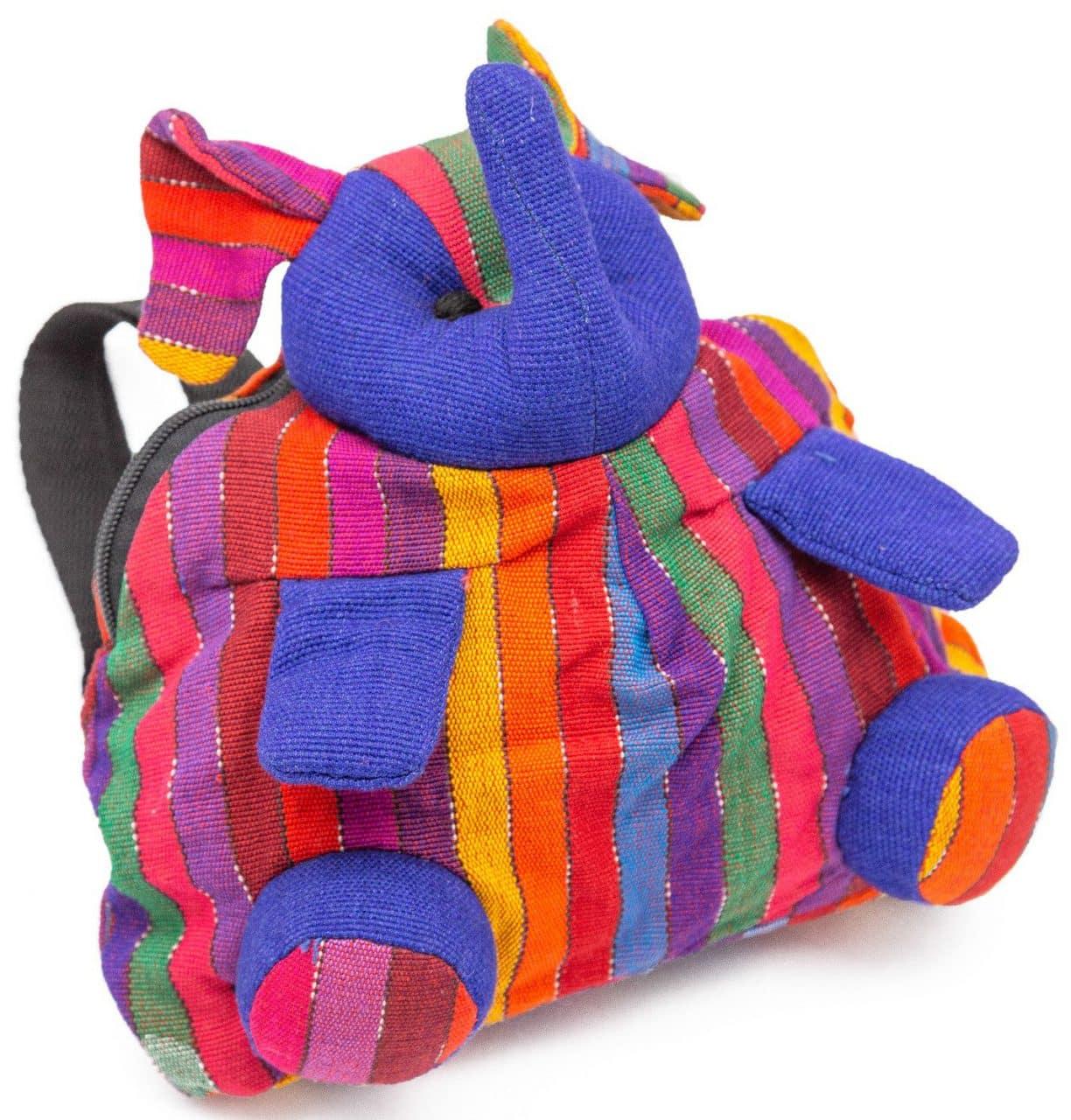 Colorful Elephant Backpack