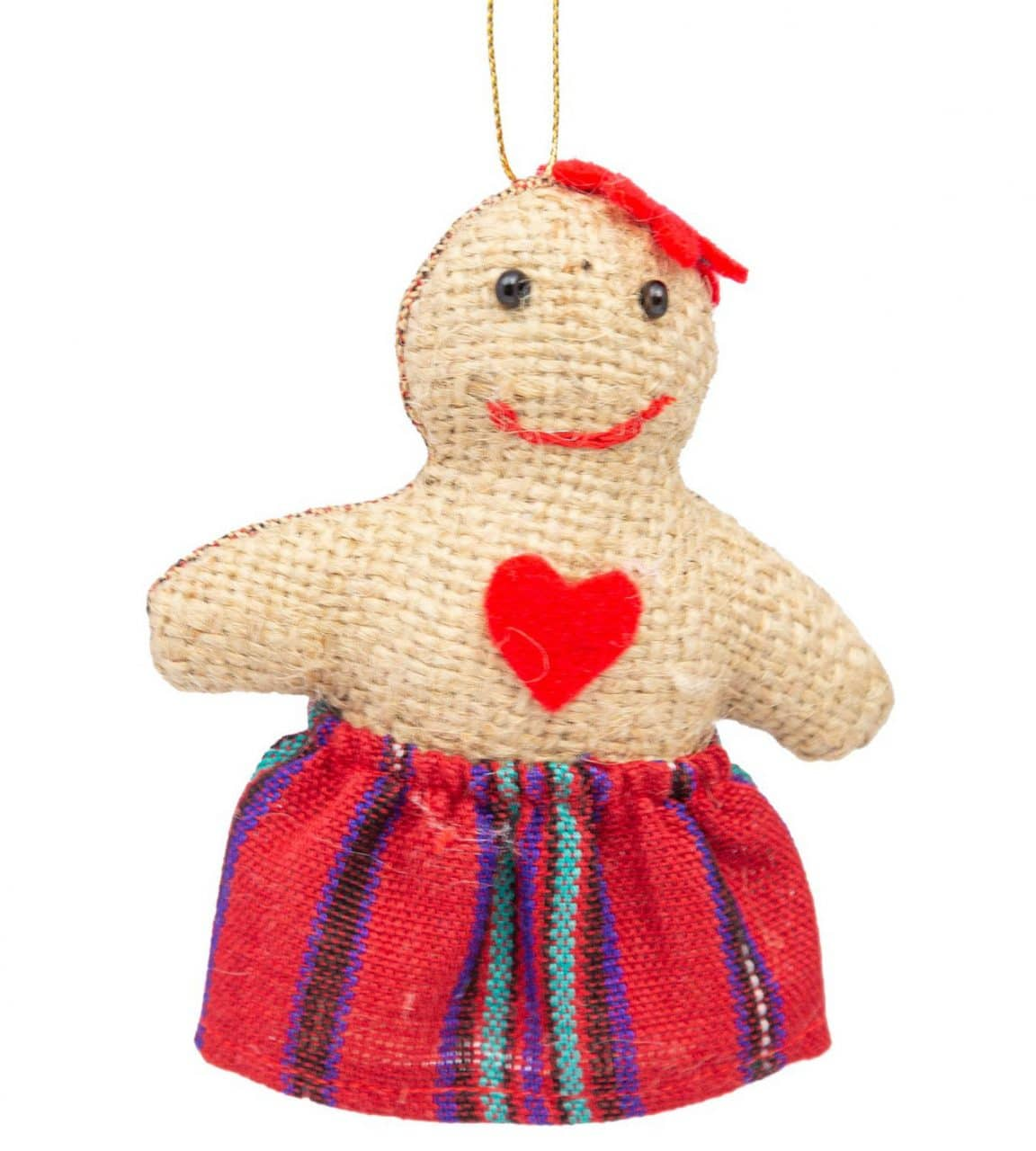 Gingerbread Ornament - Lady