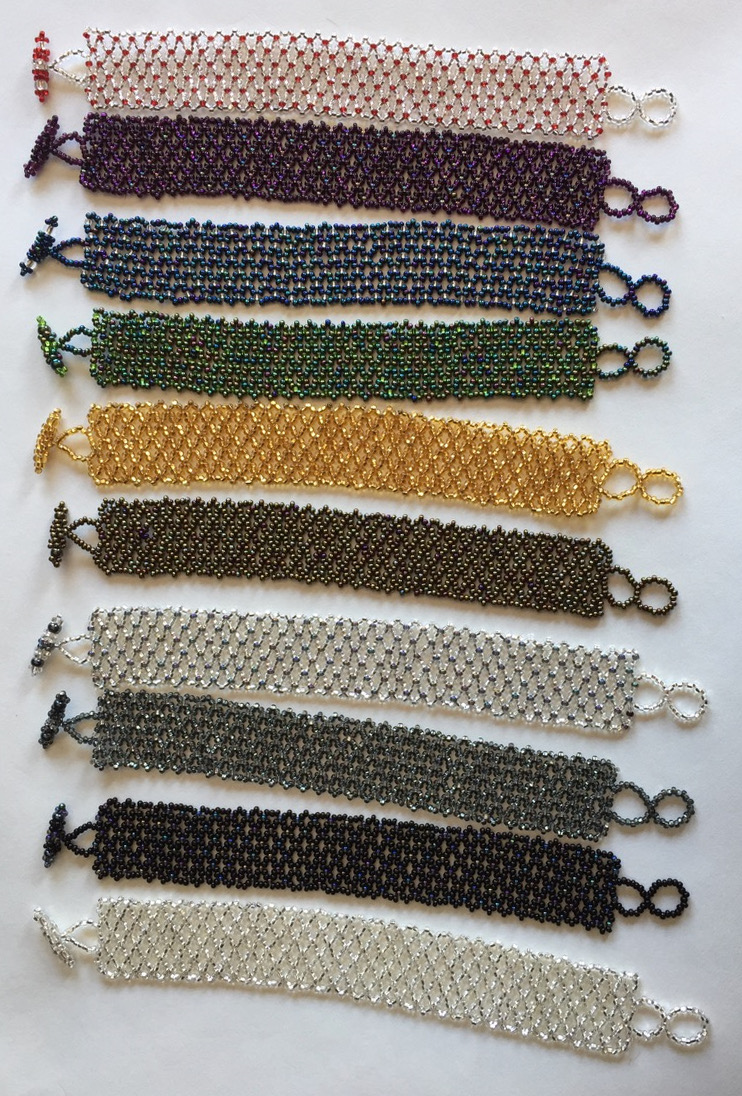 Maya Weave Beaded Bracelet - A Variety of Colors