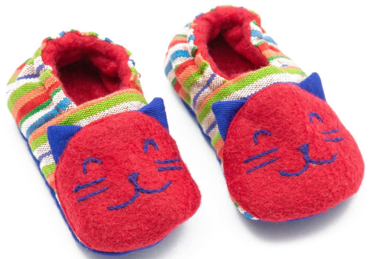 Baby Booties - Kitty - A Variety of Colors