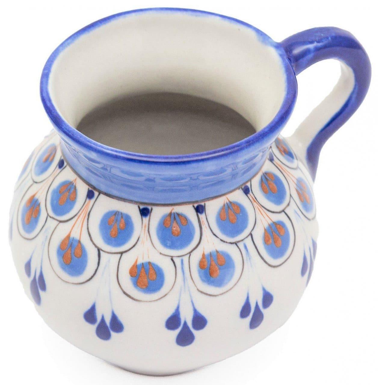 Hand-Painted Stoneware Mug - A Variety of Colors