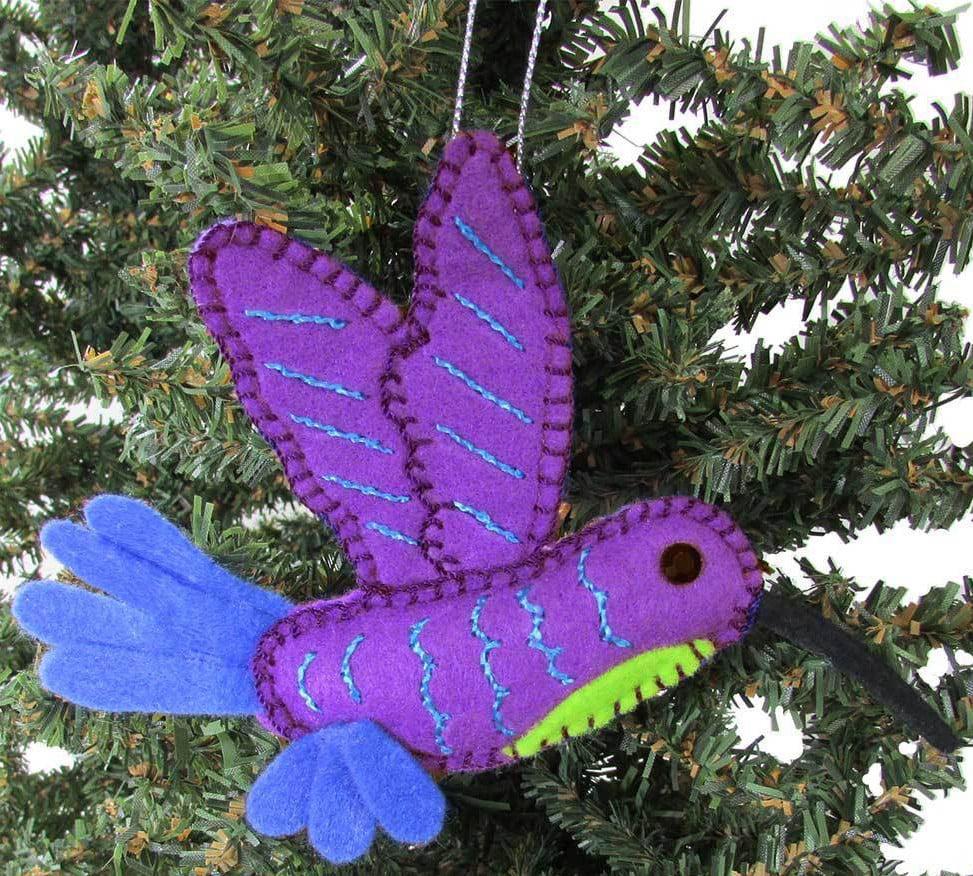 Felt Hummingbird Ornament
