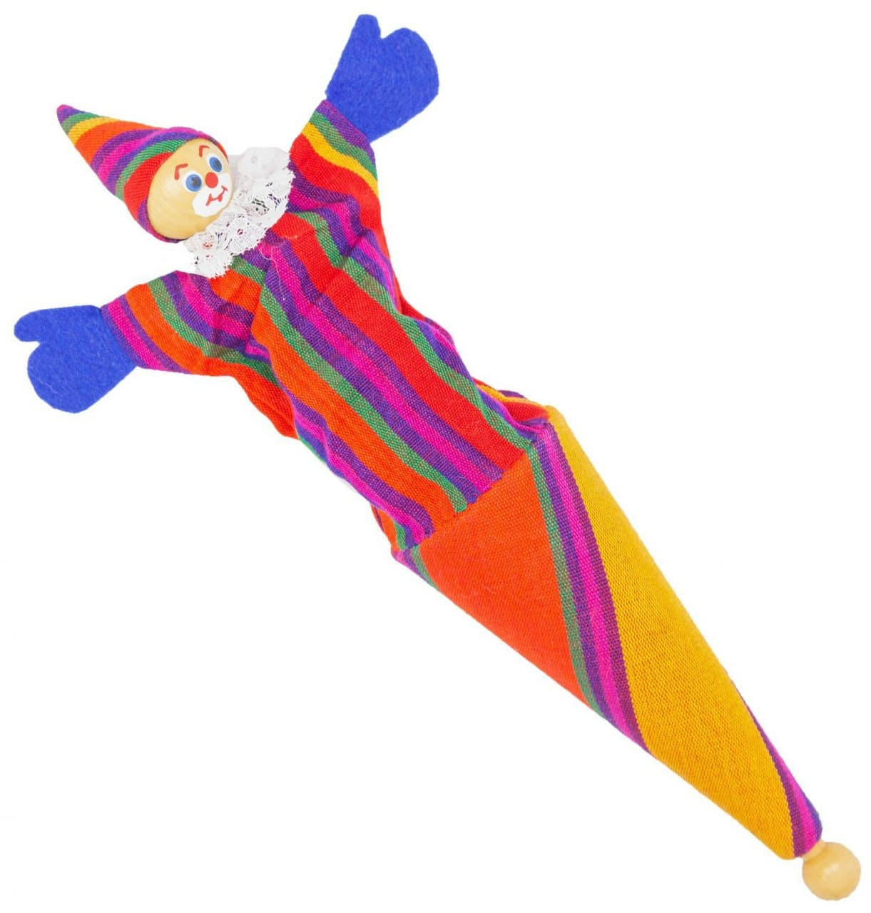 Pop-Up Clown Toy - A Variety of Colors