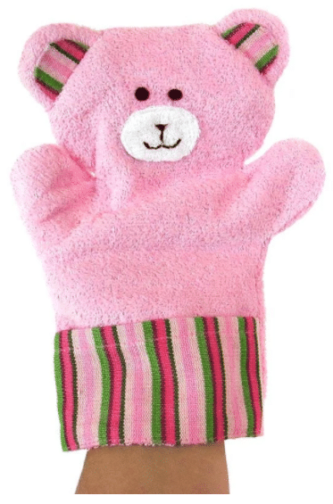 Puppet Washcloth - Bear - A Variety of Colors