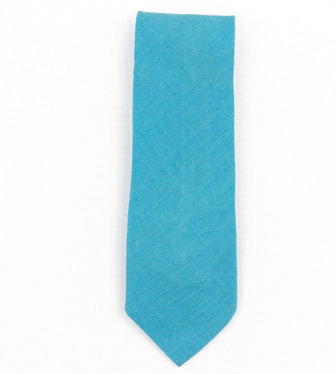 Solid Guatemalan Cotton Tie
