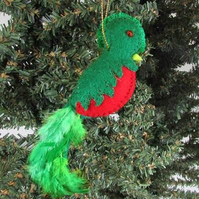 Felt Quetzal Ornament