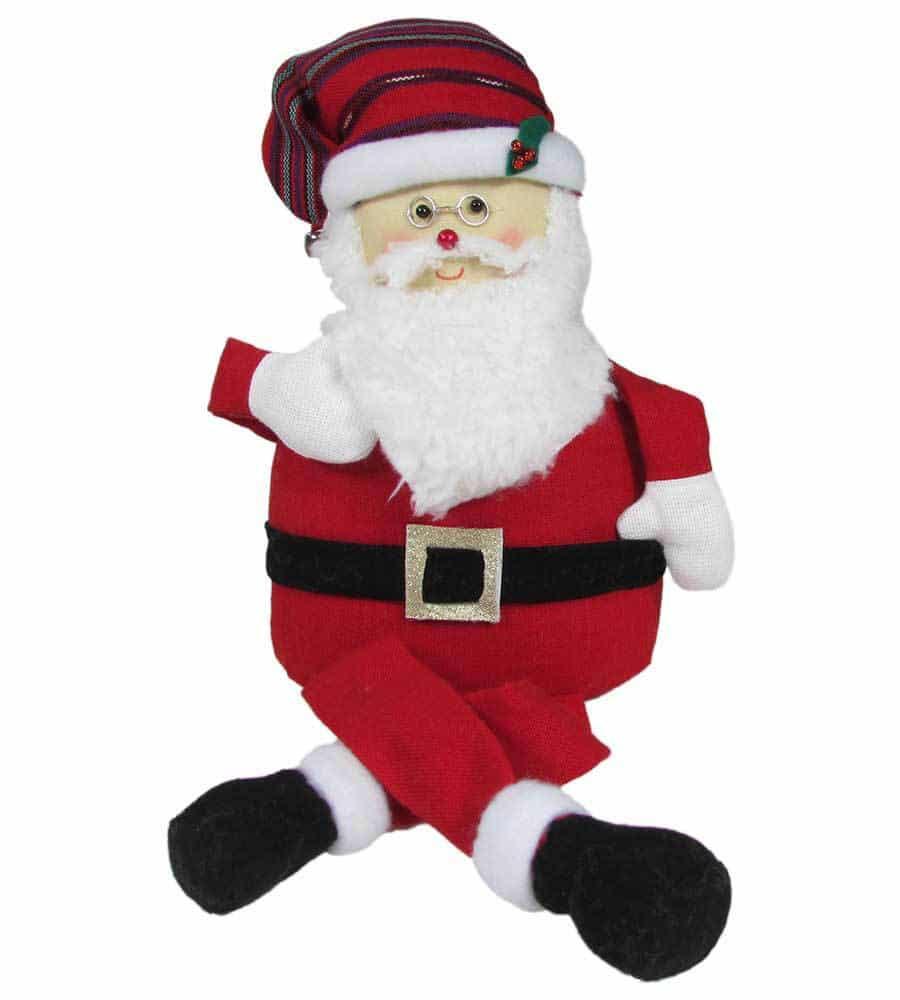 Giant Sitting Santa
