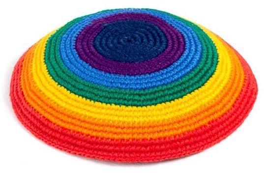 Rainbow Kippah (Yarmulke)