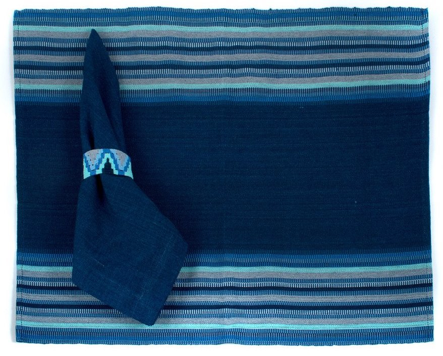 Indigo and Blues Placemat