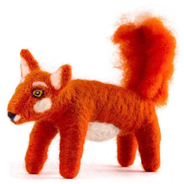 Felted Wool Fox