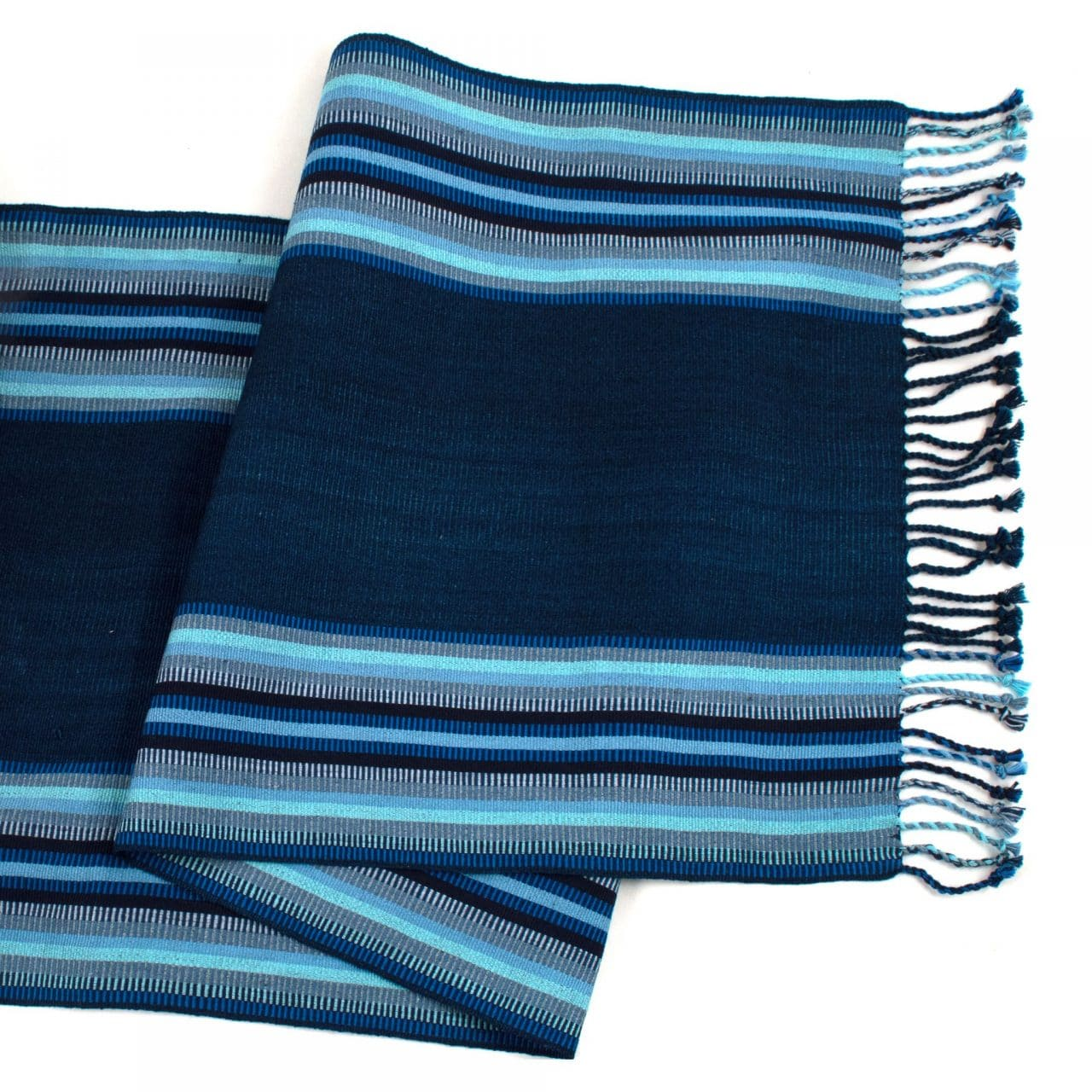 Indigo and Blues Table Runner