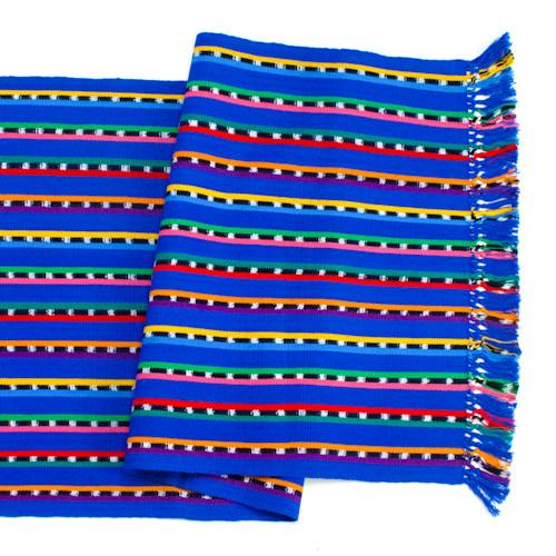 Blue Sololá Table Runner