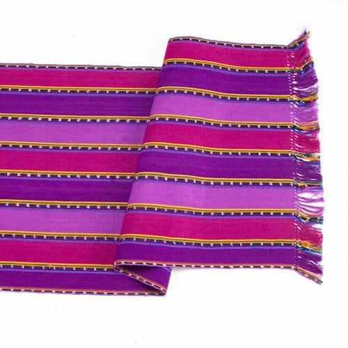 Purple Zunil Table Runner