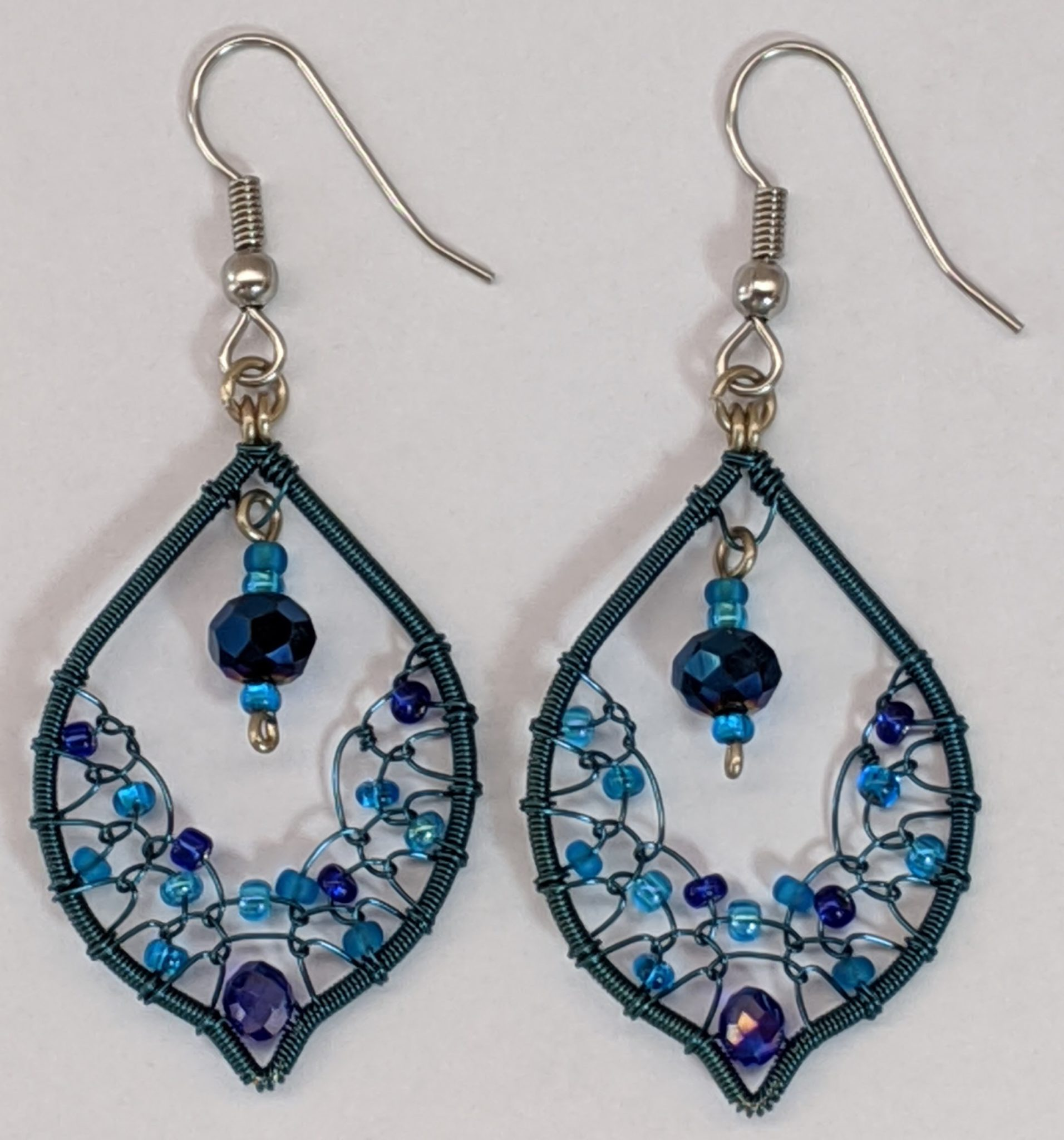 Arabian Nights Earrings - Blues