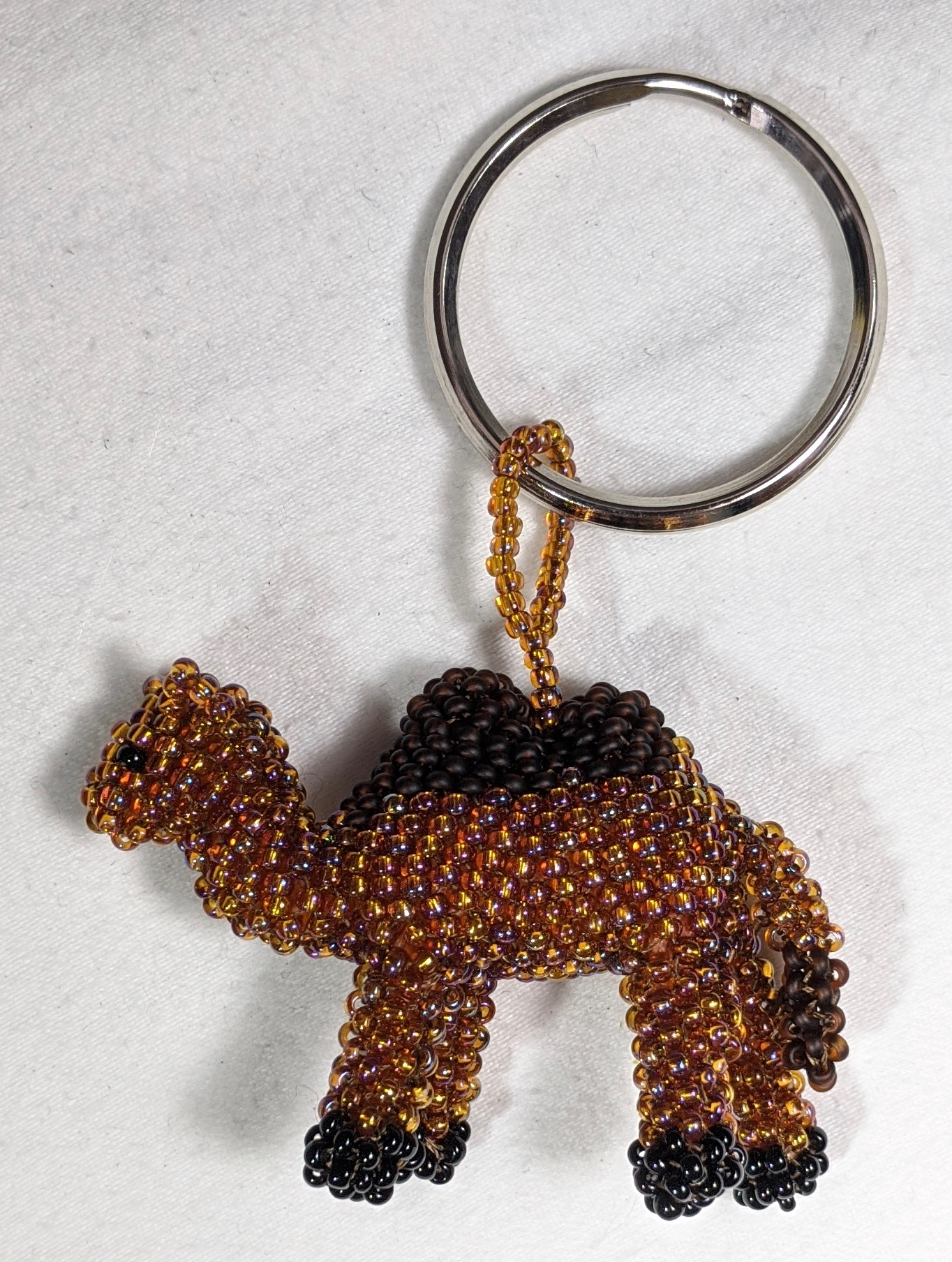 Camel Beaded Ornament