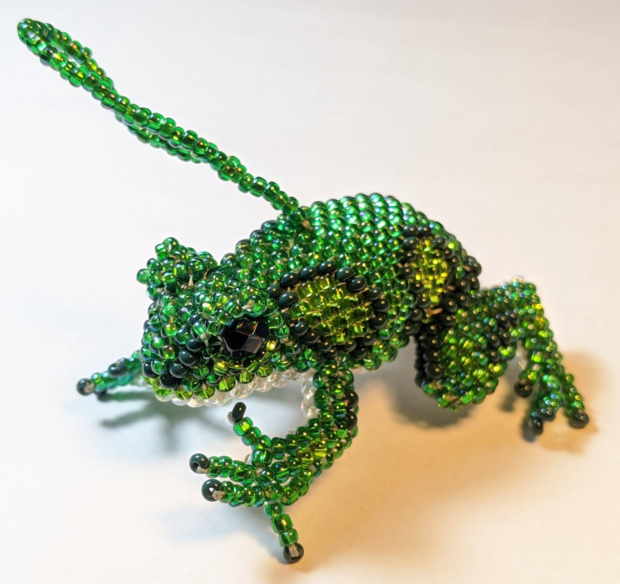 Amazon Frog Beaded Ornament - A Variety of Colors