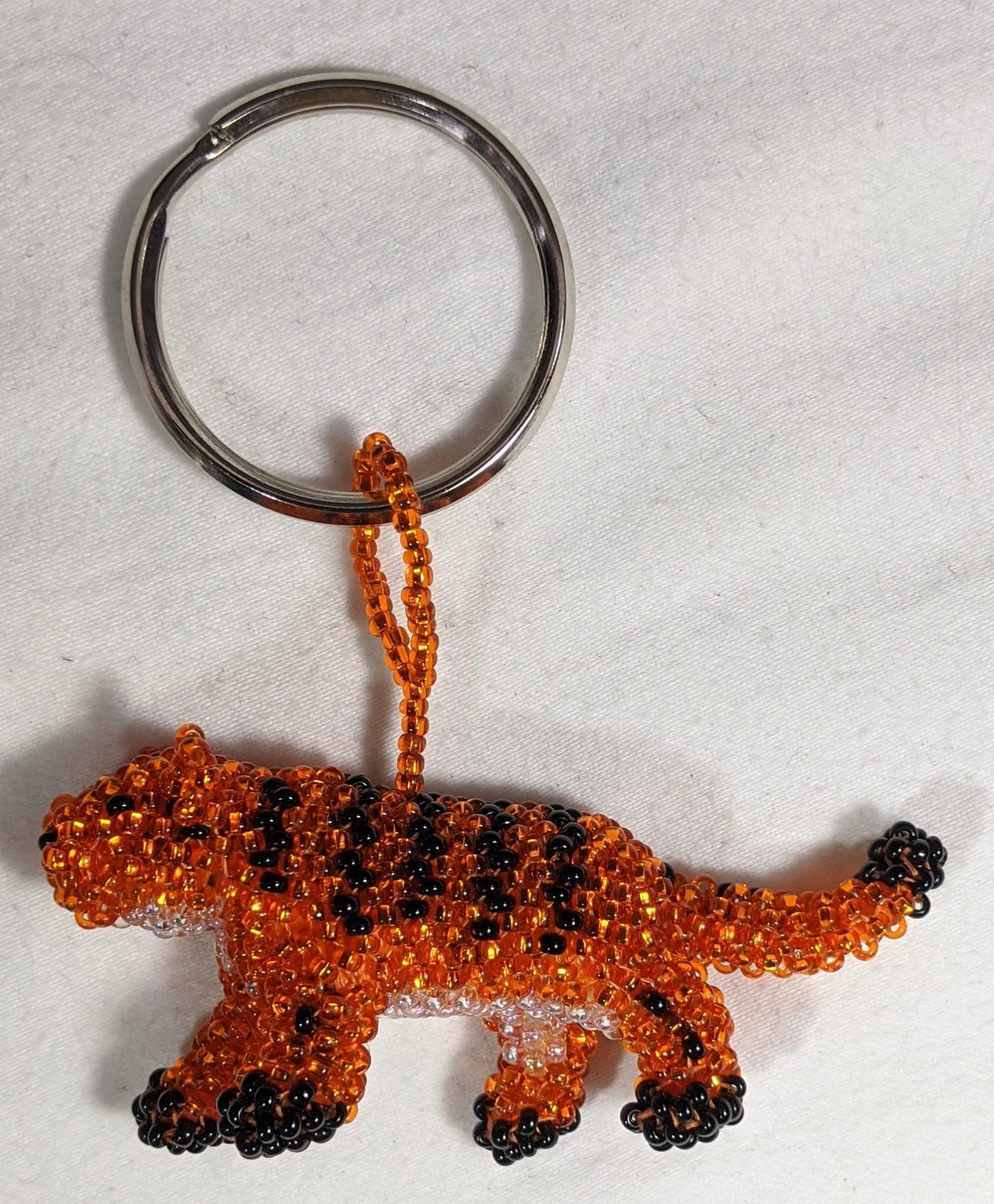 Tiger Beaded Ornament