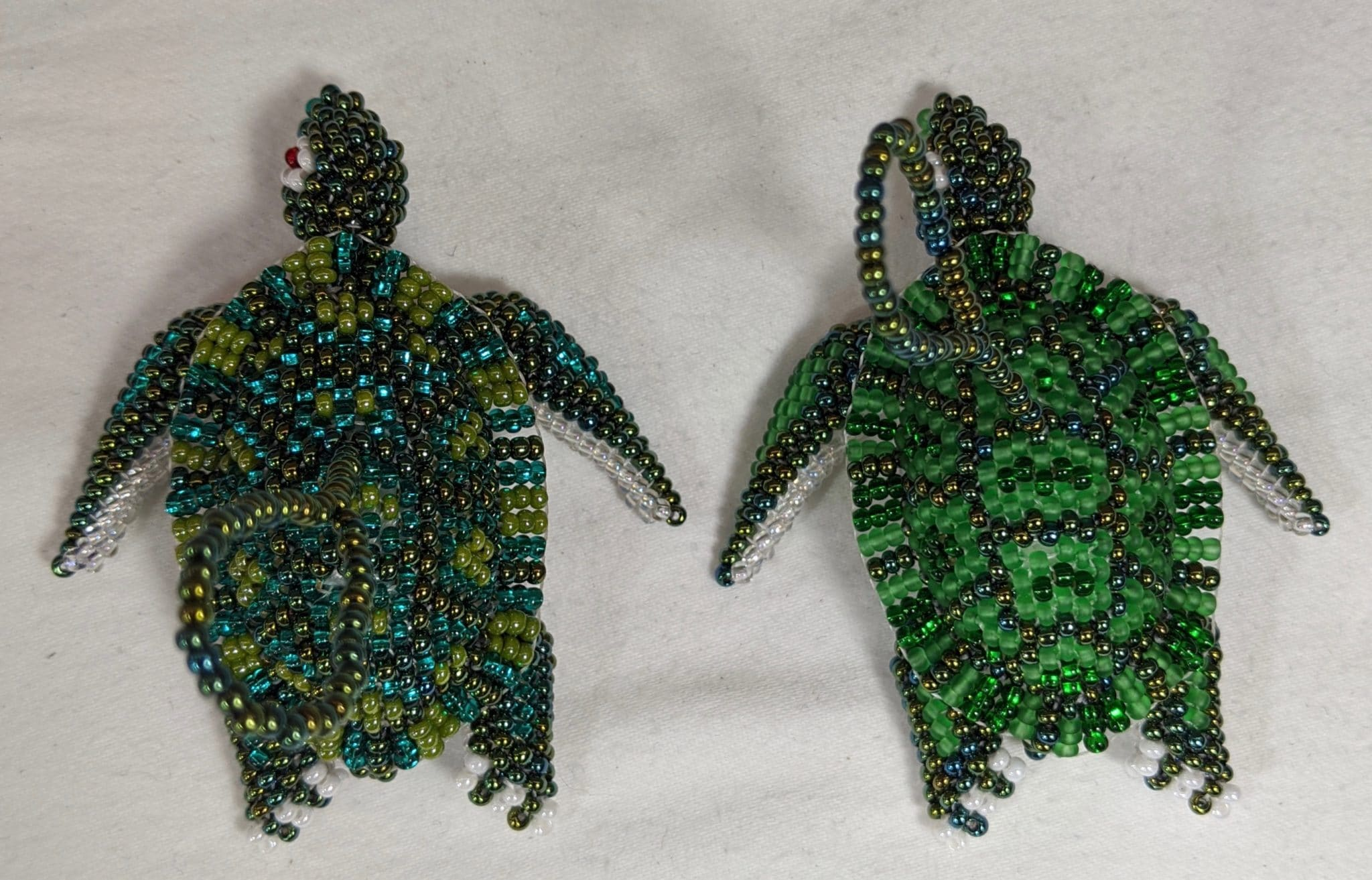Turtle Beaded Ornament