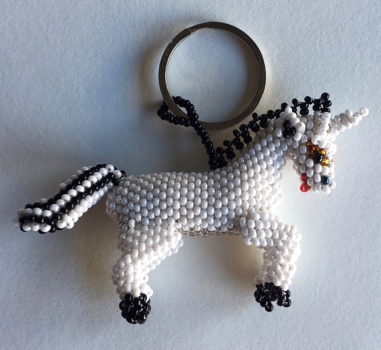 Unicorn Beaded Ornament