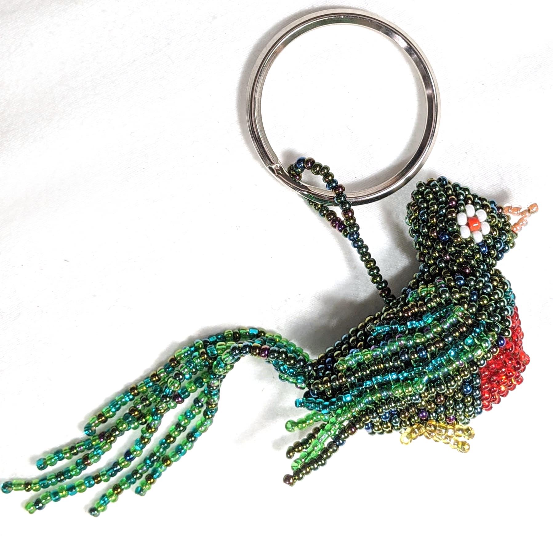 Quetzal Beaded Ornament #1