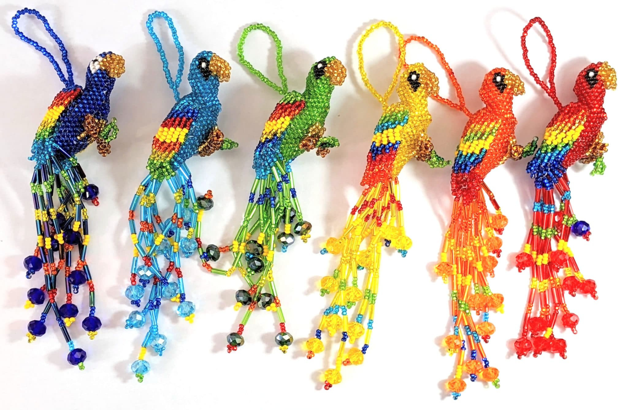 Parrot (Large) Beaded Ornament