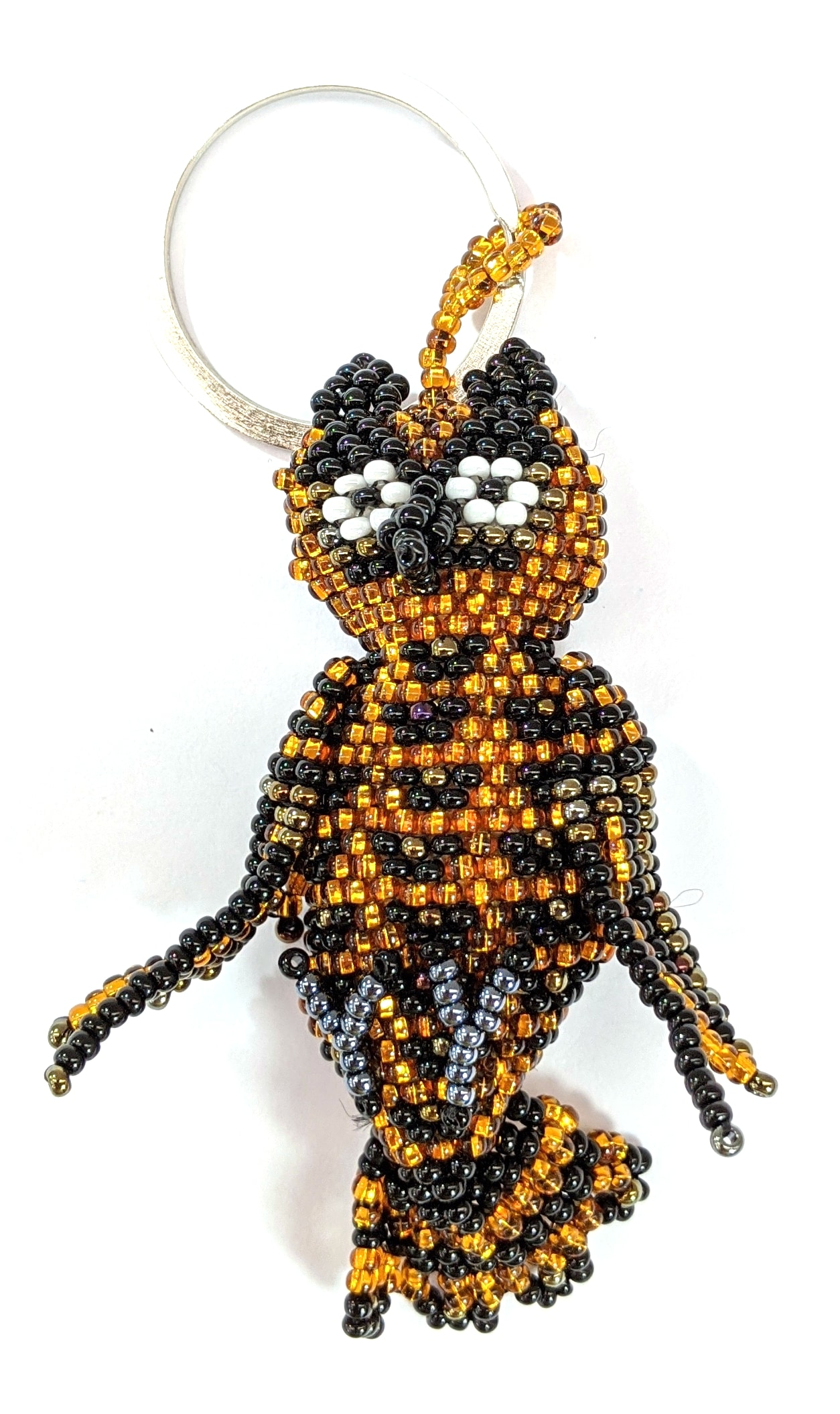 Owl Beaded Ornament