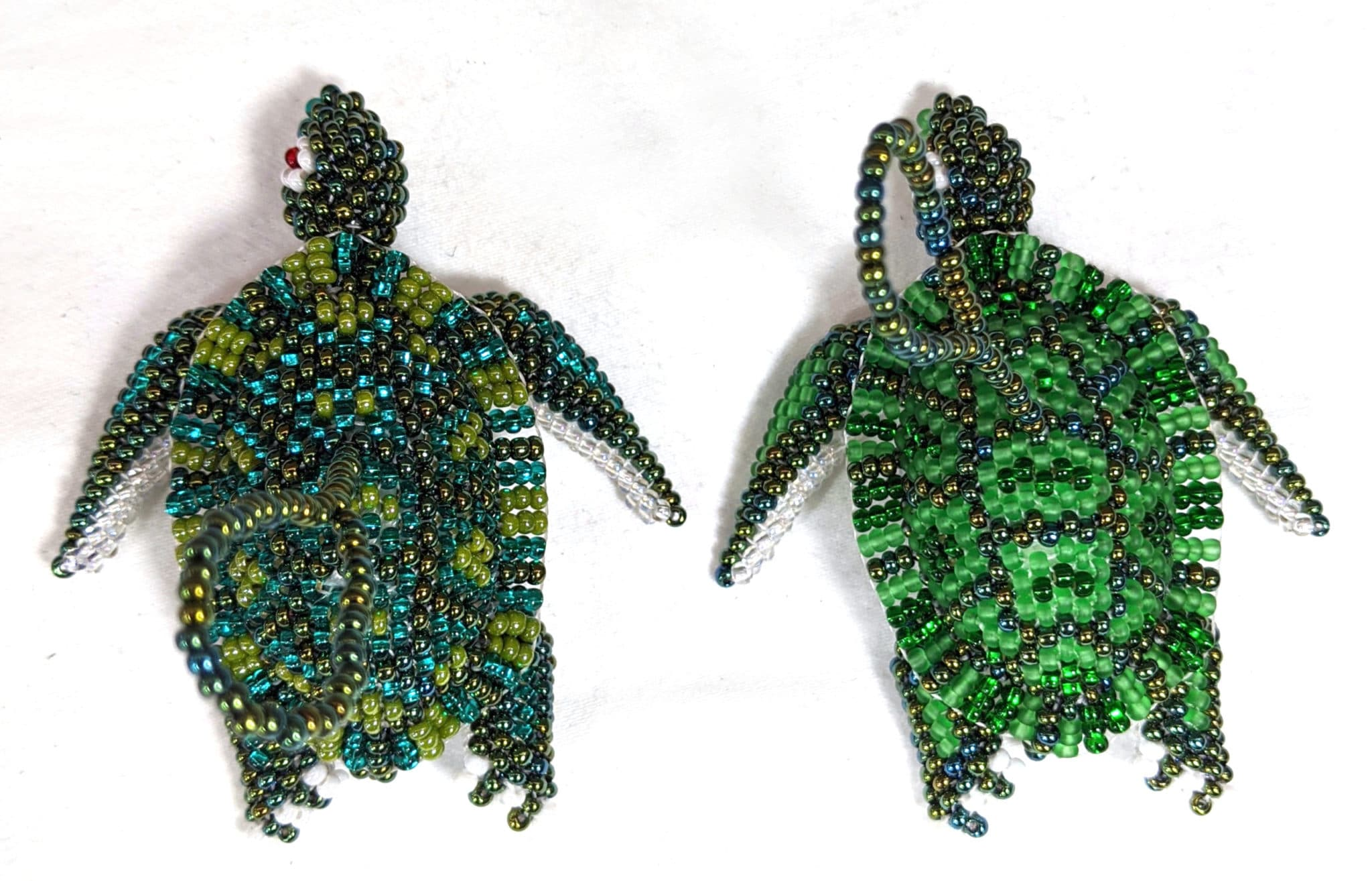 Turtle Beaded Ornament
