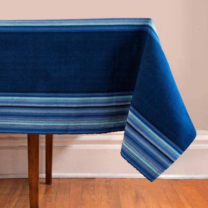 Indigo & Blues Tablecloth