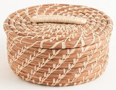 Victoria Pine Needle Basket