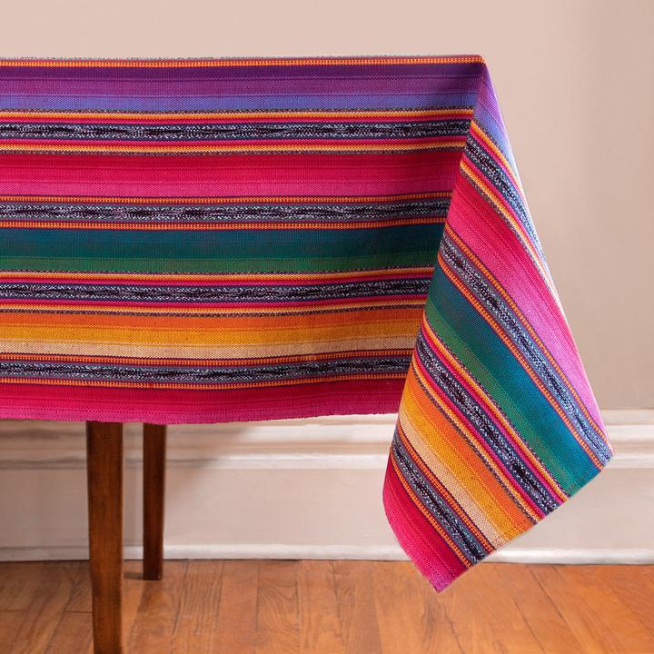 Shadowed Jaspe Tablecloth