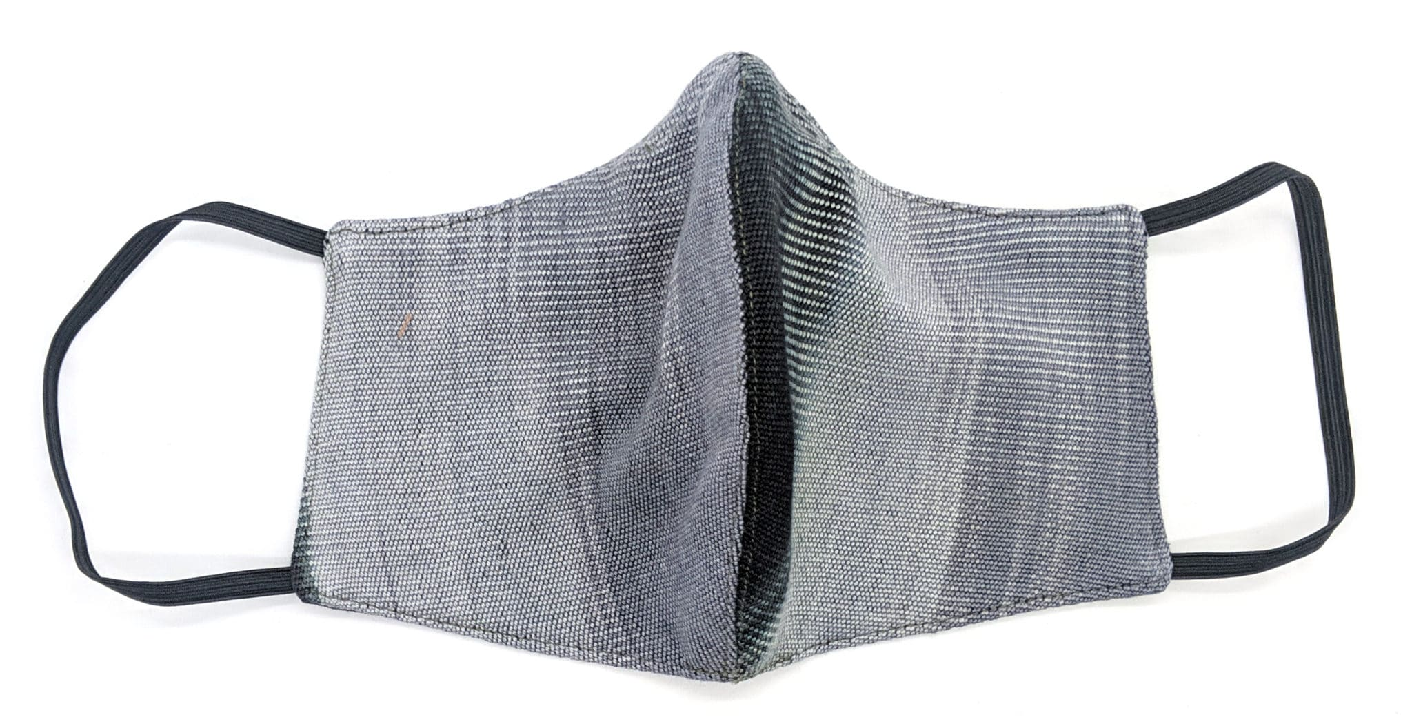 Handwoven Lightweight Bamboo Face Mask with Metal at Bridge of Nose - Black, Gray, Beige
